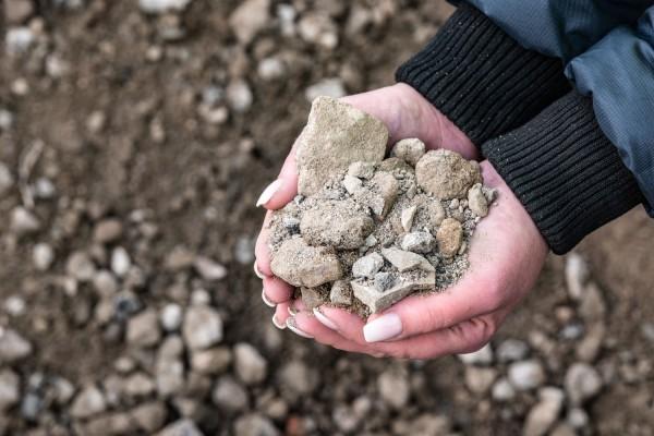 RC-Mineralgemisch Beton 0-45 mm