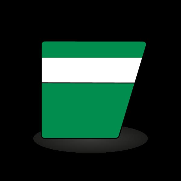 Container für Baumischabfall, gipshaltig