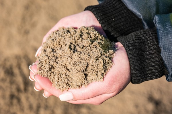 Sand gesiebt 0-8 mm